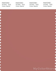 PANTONE SMART 17-1520X Color Swatch Card, Canyon Rose