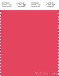 PANTONE SMART 17-1755X Color Swatch Card, Paradise Pink