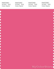 PANTONE SMART 17-1937X Color Swatch Card, Hot Pink