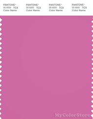 PANTONE SMART 17-2625X Color Swatch Card, Super Pink