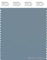 PANTONE SMART 17-4111X Color Swatch Card, Cadet Gray