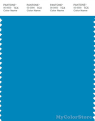 PANTONE SMART 17-4433X Color Swatch Card, Dresden Blue