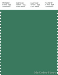 PANTONE SMART 17-5923X Color Swatch Card, Pine Green