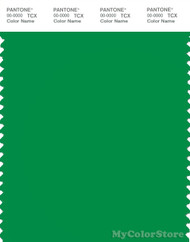 PANTONE SMART 17-6153X Color Swatch Card, Fern Green