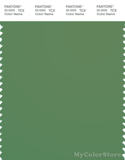 PANTONE SMART 18-0110X Color Swatch Card, English Ivy