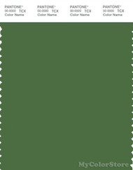 PANTONE SMART 18-0125X Color Swatch Card, Artichoke Green
