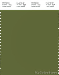 PANTONE SMART 18-0328X Color Swatch Card, Cedar Green