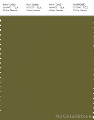 PANTONE SMART 18-0430X Color Swatch Card, Avocado