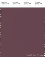PANTONE SMART 18-1411X Color Swatch Card, Plum Wine