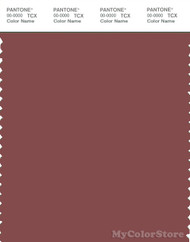 PANTONE SMART 18-1426X Color Swatch Card, Pompeii