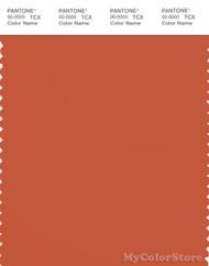 PANTONE SMART 18-1447X Color Swatch Card, Orange Rust