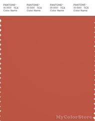 PANTONE SMART 18-1450X Color Swatch Card, Mecca Orange