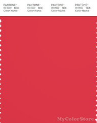 PANTONE SMART 18-1762X Color Swatch Card, Hibiscus