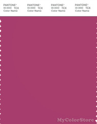 PANTONE SMART 18-2326X Color Swatch Card, Cactus Flower