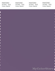 PANTONE SMART 18-3513X Color Swatch Card, Grayish Purple