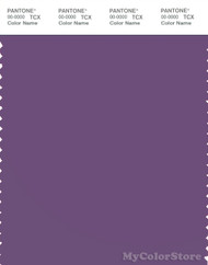 PANTONE SMART 18-3518X Color Swatch Card, Patrician Purple