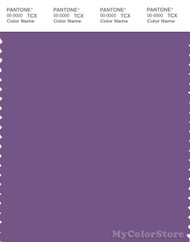 PANTONE SMART 18-3520X Color Swatch Card, Purple Drab