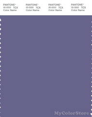 PANTONE SMART 18-3820X Color Swatch Card, Twilight Purple