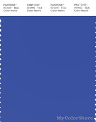 PANTONE SMART 18-3949X Color Swatch Card, Dazzling Blue