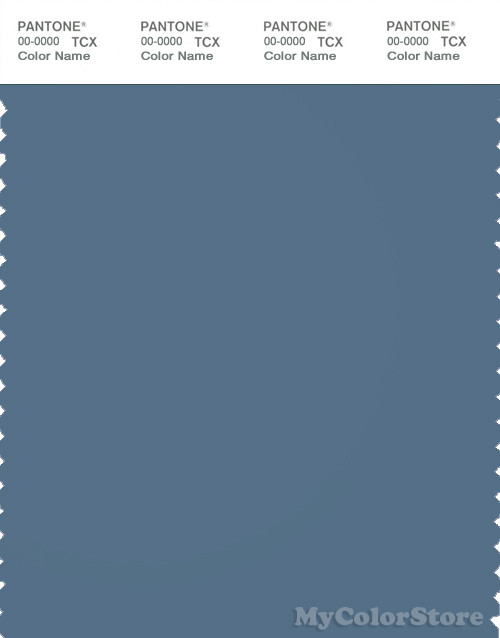 PANTONE SMART 18-4020X Color Swatch Card, Captains Blue