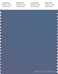 PANTONE SMART 18-4027X Color Swatch Card, Moonlight Blue