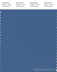 PANTONE SMART 18-4029X Color Swatch Card, Federal Blue