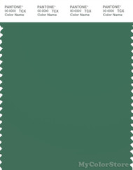 PANTONE SMART 18-6018X Color Swatch Card, Foliage Green