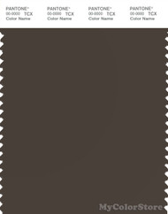 PANTONE SMART 19-0812X Color Swatch Card, Coffee