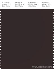 PANTONE SMART 19-1018X Color Swatch Card, Ganache