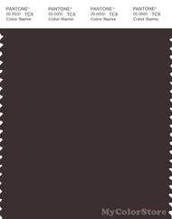 PANTONE SMART 19-1111X Color Swatch Card, Black Coffee
