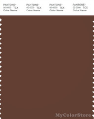 PANTONE SMART 19-1220X Color Swatch Card, Cappuccino