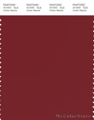 PANTONE SMART 19-1531X Color Swatch Card, Sun-dried Tomato