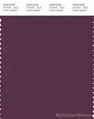 PANTONE SMART 19-2514X Color Swatch Card, Italian Plum