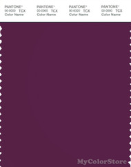 PANTONE SMART 19-2524X Color Swatch Card, Dark Purple