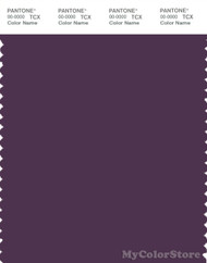 PANTONE SMART 19-3217X Color Swatch Card, Shadow Purple