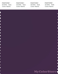 PANTONE SMART 19-3520X Color Swatch Card, Blackberry Cordial