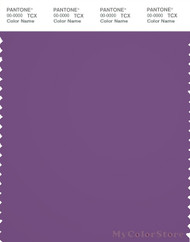 PANTONE SMART 19-3526X Color Swatch Card, Meadow Violet