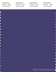 PANTONE SMART 19-3842X Color Swatch Card, Deep Wisteria