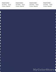 PANTONE SMART 19-3939X Color Swatch Card, Blue Print