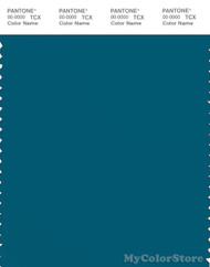 PANTONE SMART 19-4340X Color Swatch Card, Lyons Blue