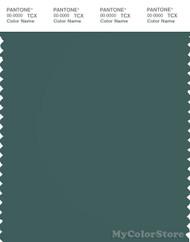 PANTONE SMART 19-4818X Color Swatch Card, Mallard Green