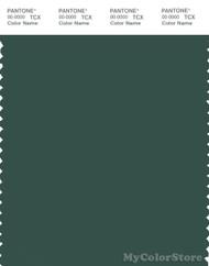 PANTONE SMART 19-5411X Color Swatch Card, Trekking Green