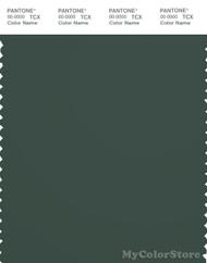 PANTONE SMART 19-5914X Color Swatch Card, Jungle Green