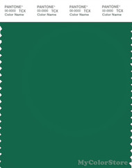 PANTONE SMART 19-6026X Color Swatch Card, Verdant Green