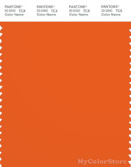 PANTONE SMART 16-1363X Color Swatch Card, Puffin's Bill