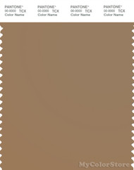 PANTONE SMART 17-1038X Color Swatch Card, Tiger's Eye