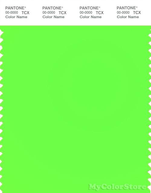 PANTONE SMART 13-0340TN Color Swatch Card, Green Gecko
