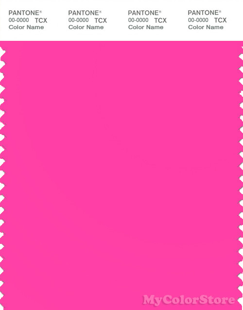 PANTONE SMART 16-2130TN Color Swatch Card, Knockout Pink