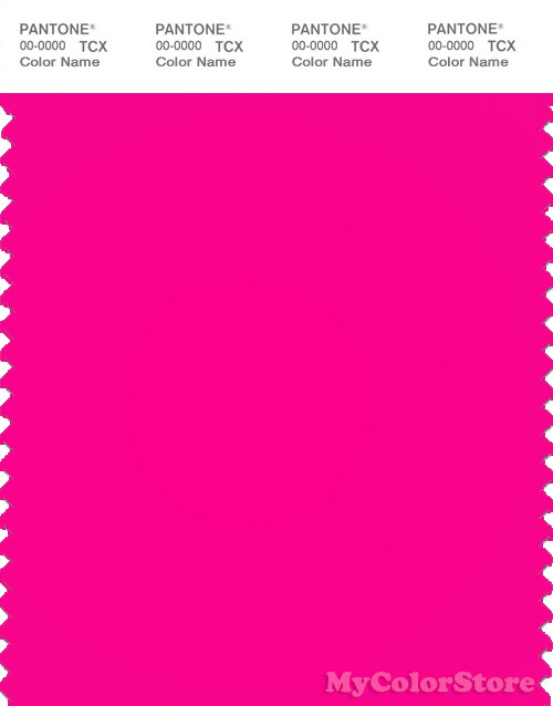 PANTONE SMART 17-2435TN Color Swatch Card, Pink Glo