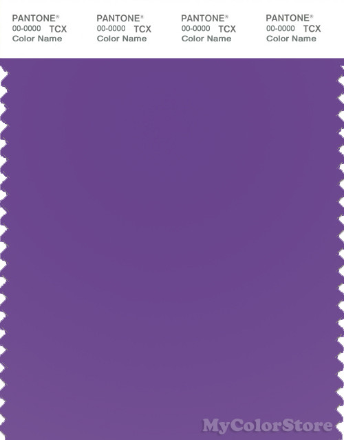 PANTONE SMART 18-3640TN Color Swatch Card, Electric Purple